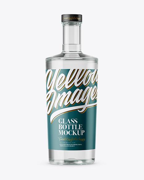 Download Glass Bottle Mockup Vk Yellow Images