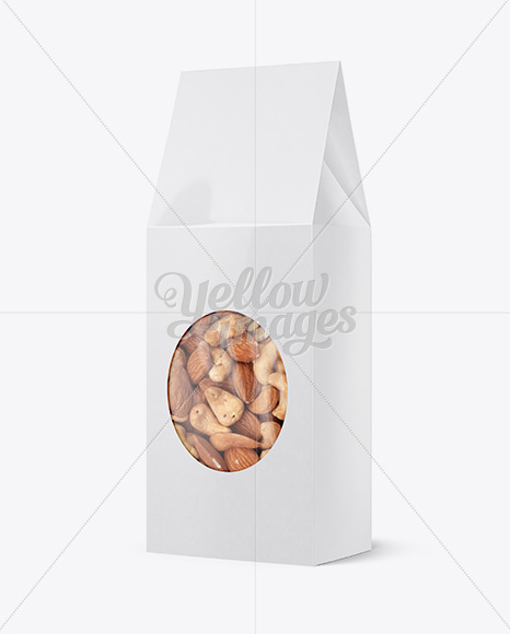 Download Kraft Bag With Cookie Psd Mockup Yellowimages