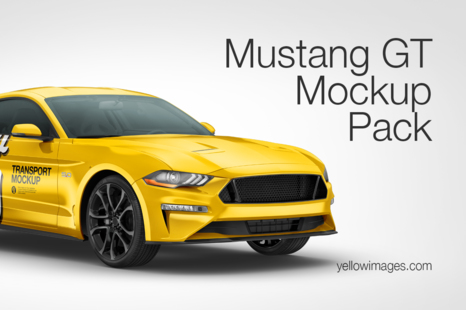 Download Free Vehicle Mockup Psd Yellowimages