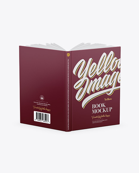 Download Paper Book Mockup Free Yellow Images