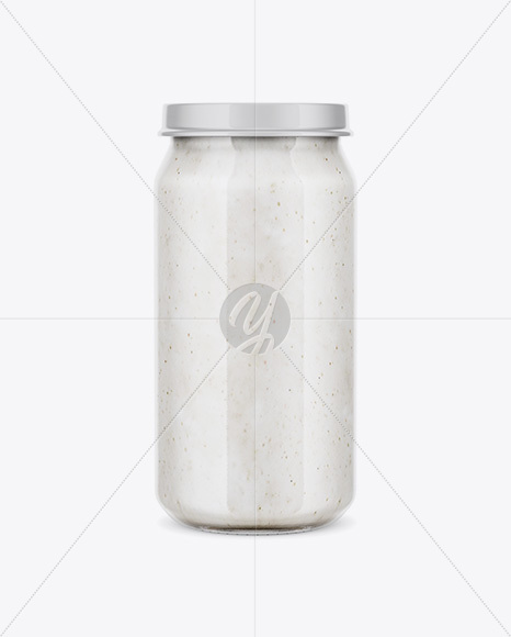 Download Candies Glass Jar Psd Mockup Yellowimages