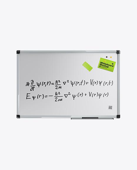 Glossy Whiteboard Mockup