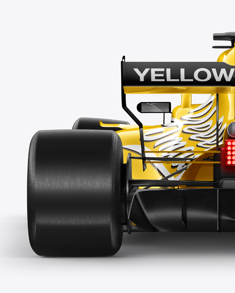 Formula-1 2018 Mockup - Back view