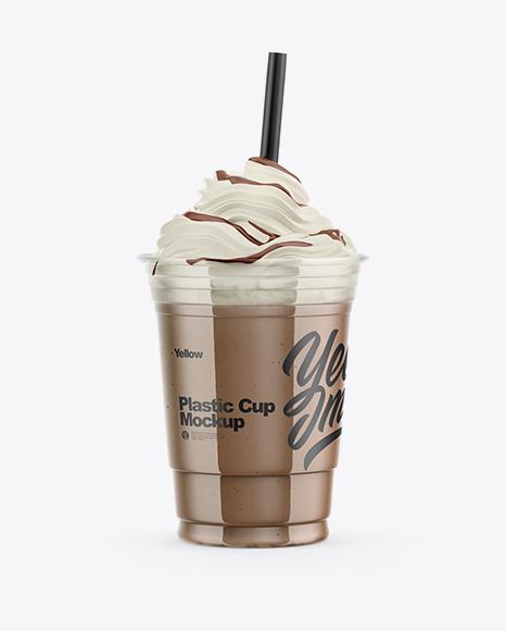 Frappuccino Coffee Cup Mockup