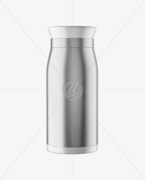 Download Opened Metallic Thermos Psd Mockup Yellow Images