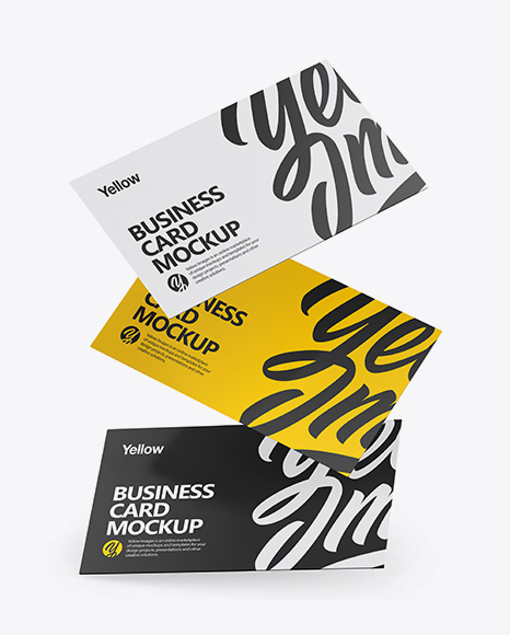 Download Mock Up Business Card Yellowimages