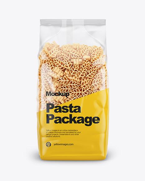 Spighe Pasta Mockup - Front View