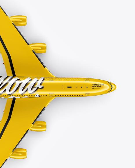 Aircraft Mockup - Top view