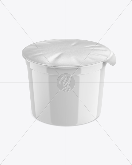 Download Plastic Soup Cup Front View High Angle Shot Yellowimages