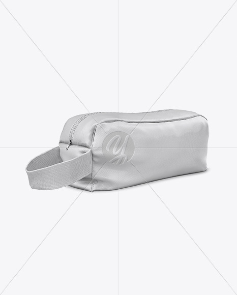 Magazines & books, iphone, ipad, macbook, imac, packaging, signs, vehicles, apparel, food and beverages, cosmetics and more! Cosmetic Bag Mockup Half Side View In Apparel Mockups On Yellow Images Object Mockups