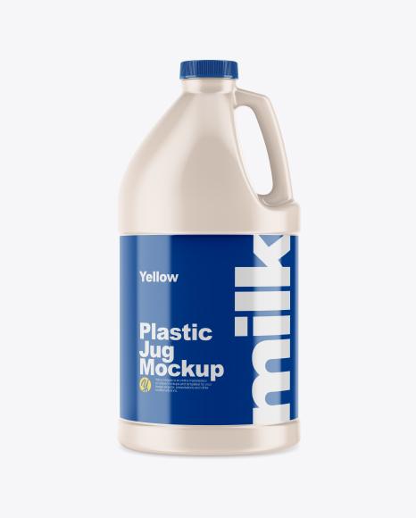 64oz Plastic Jug Mockup