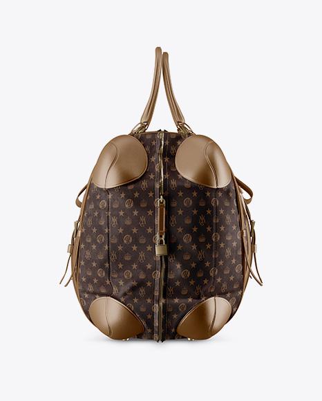 Leather Bag Mockup - Side View