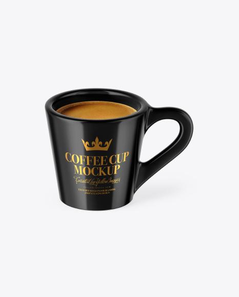 Glossy Coffee Cup
