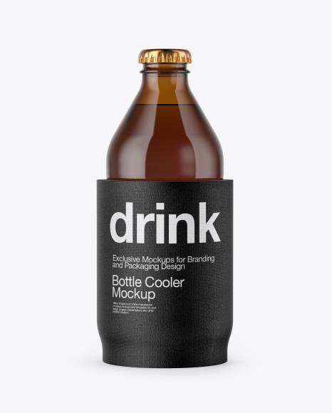Bottle Cooler Mockup
