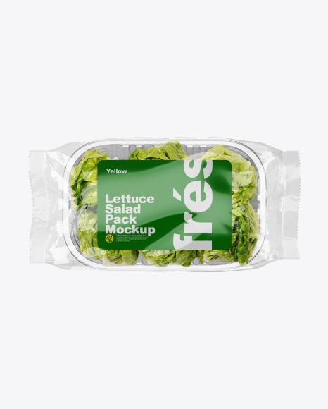 Salad Pack Mockup