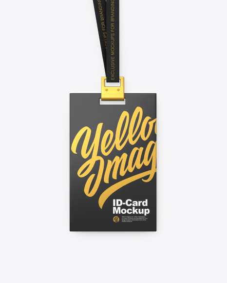 Identity Card Mockup