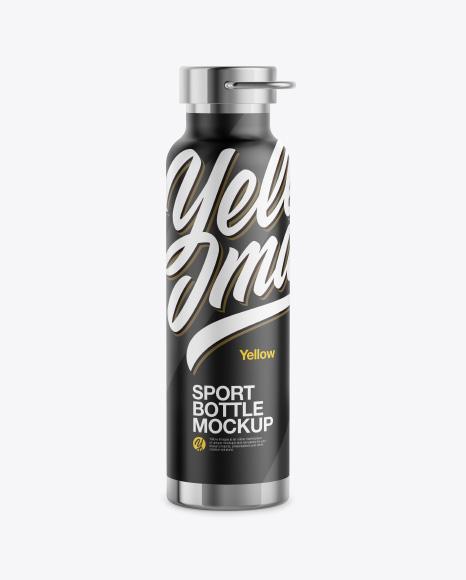 Sport Bottle Mockup