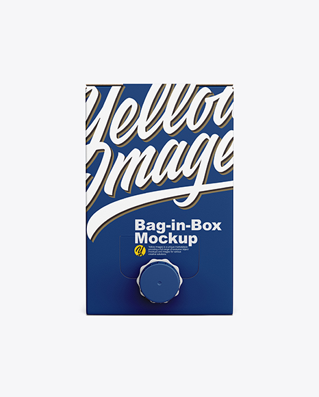 Bag-in-Box Mockup