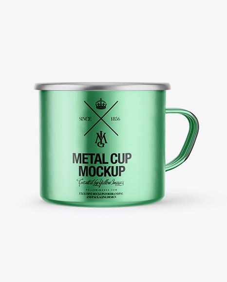 Metallic Cup Mockup