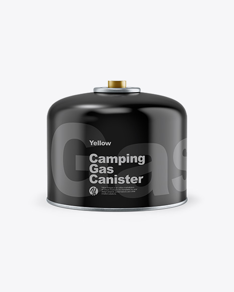 Glossy Gas Canister