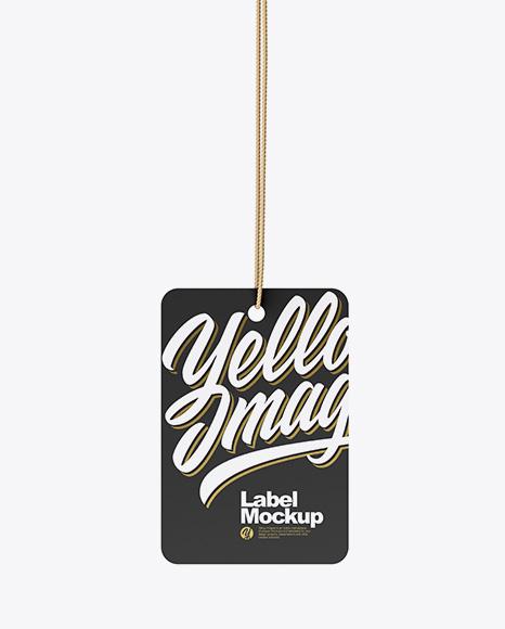 Paper Label Mockup
