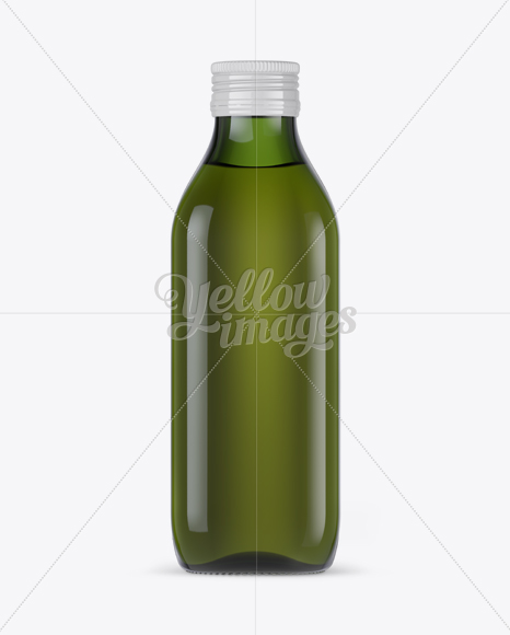 Download 6 Green Glass Bottles Pack Psd Mockup Yellowimages