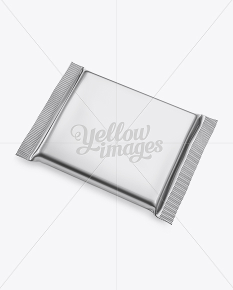 Download Glossy Metallic Chocolate Bar Psd Mockup Top View Yellowimages
