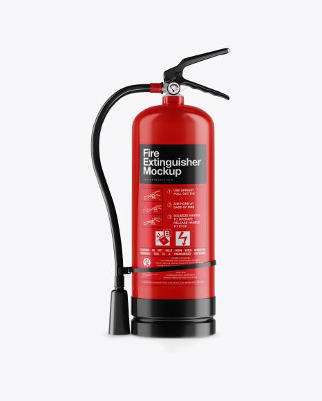 Fire Extinguisher Mockup