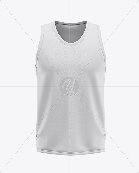 Download Basketball Reversible Mesh Jersey Mockup Front View Yellowimages