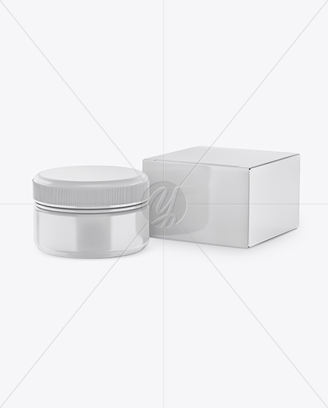 Download Cosmetic Jar Mockup Psd Free Download Yellowimages