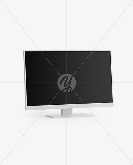 Download Computer Monitor Mockup Yellowimages