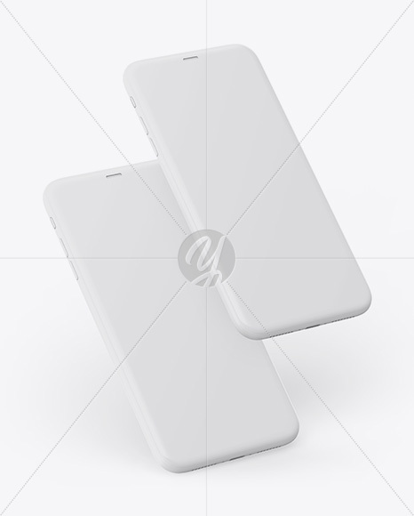 Download White Iphone X Mockup Free Yellowimages
