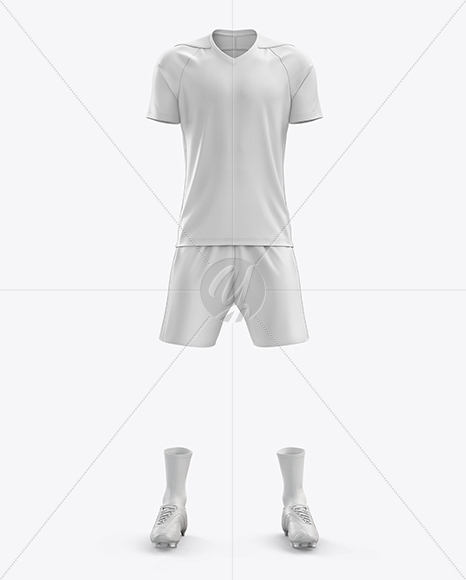 Download Lace Up Soccer T Shirt Mockup Front View Yellowimages