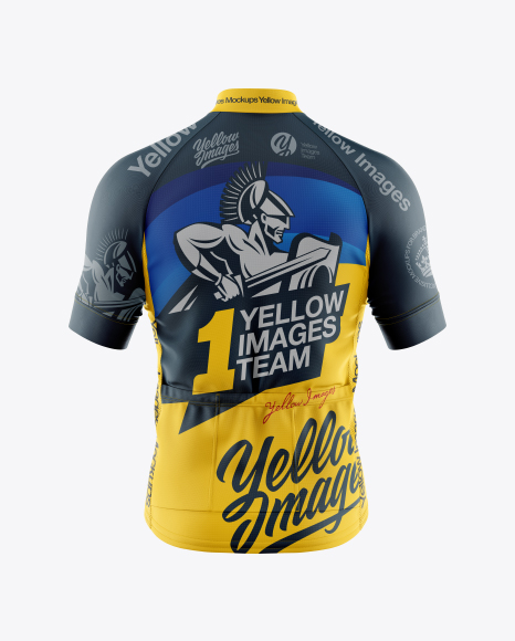 Download Cycling Jersey Mockup in Bottle Mockups on Yellow Images ...
