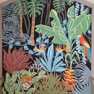 fresque murale de 7 m2 en exterieur d