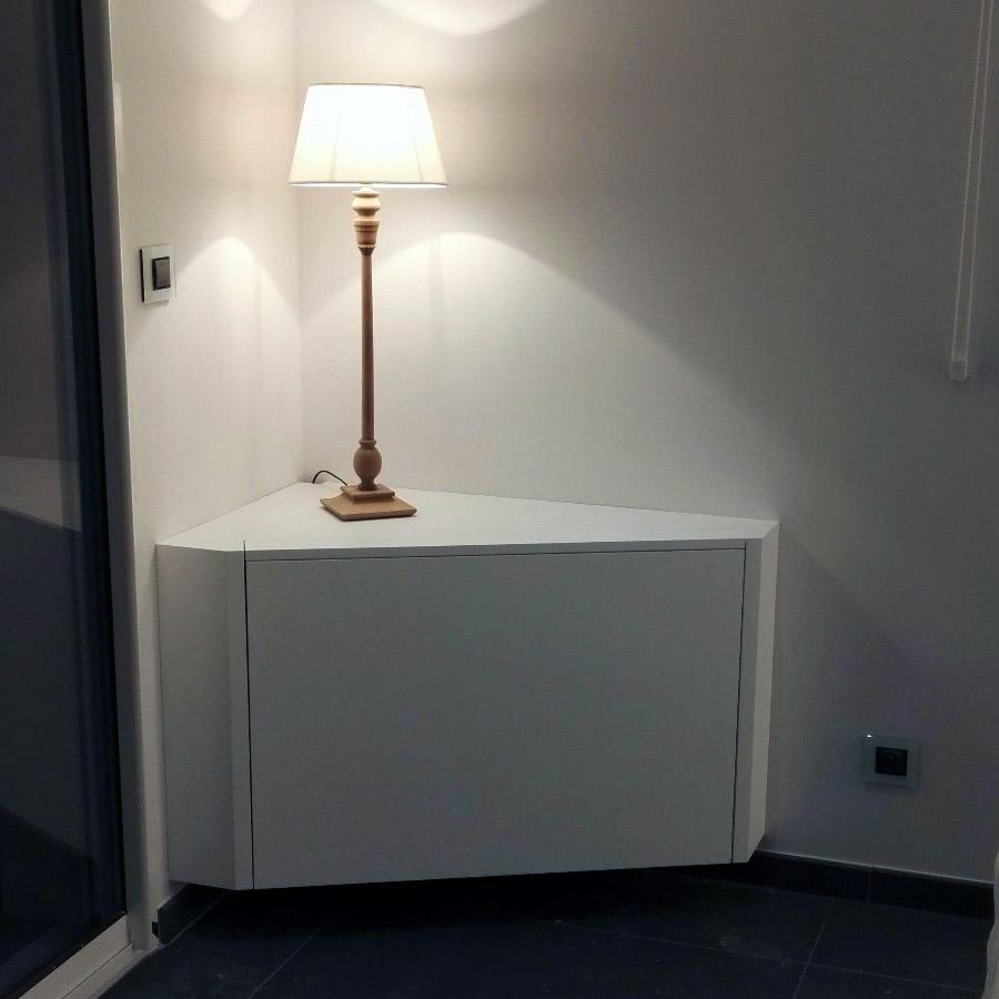 meuble d angle et cache tv un projet