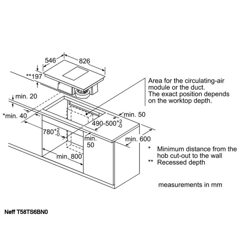medium resolution of neff t58ts6bn0 80cm air venting flex induction hob stainless steel home wiring diagrams neff hob wiring diagram