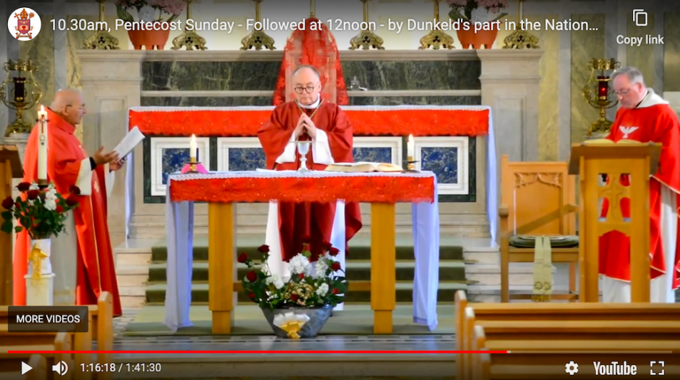 Mass for Pentecost 2020