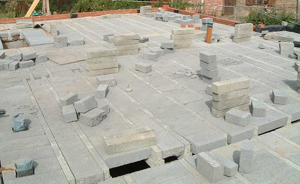 Alternative To Concrete Slab