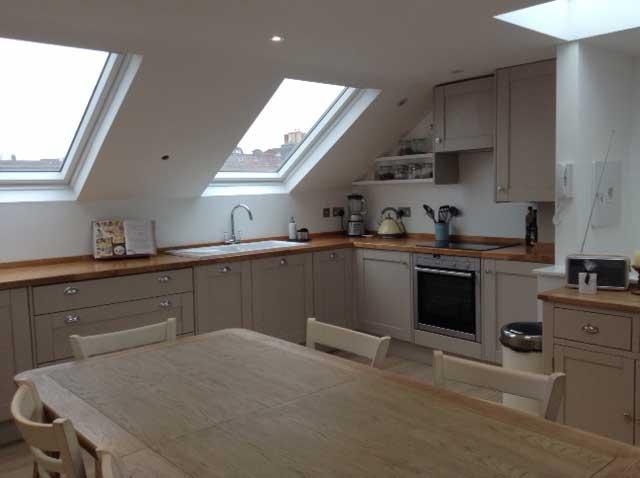 Mansard Loft Conversion Reverse Living Flat Tour