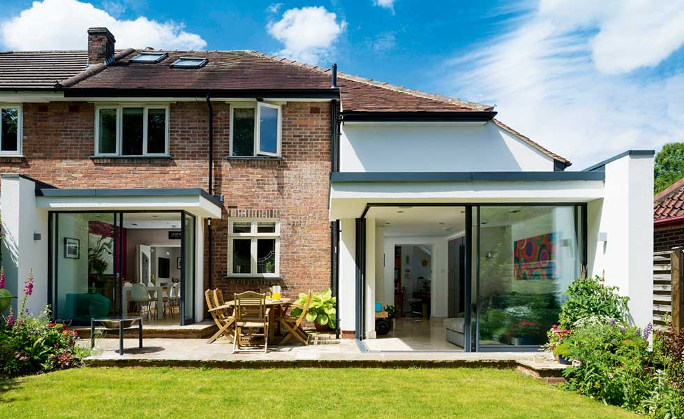 Detached house extension ideas home