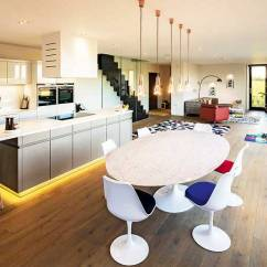 Best Flooring For Living Room And Kitchen Modern Decor Ideas 20 Of The Open Plan Kitchens Homebuilding Renovating Contemporary In A Self Build