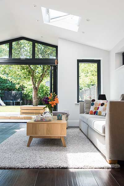 living room extension pictures how to decorate small rectangular 1950s contemporary and remodel homebuilding renovating lit from above