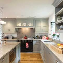 Shaker Style Kitchen Remodel Hawaii 8 Kitchens Homebuilding Renovating Painted Grey With Aga
