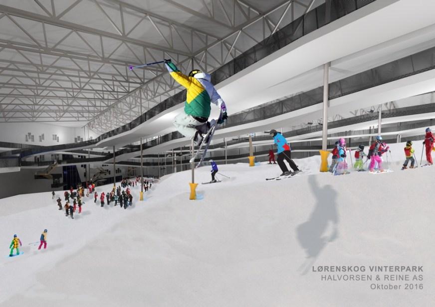 Oslo's Incredible New Indoor Ski Arena