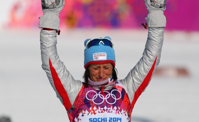 Marit Bjørgen Norway S Olympic Superstar