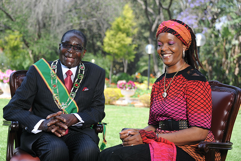 How Mugabe started adulterous Grace affair: 'I just grabbed and ...