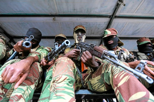 Coup fears allayed after 'unusual' army drills in Darwendale