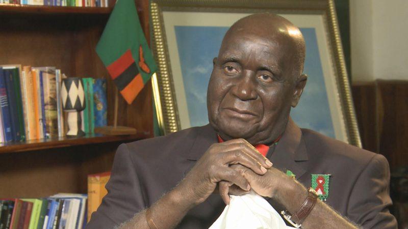Kenneth Kaunda Being Treated For Pneumonia - NewZimbabwe.com