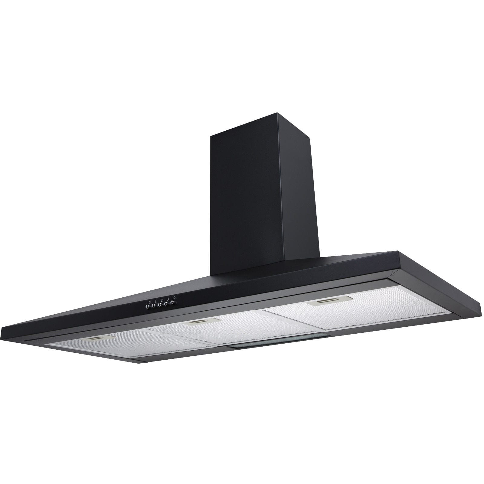 extractor fan kitchen rectangle table sia ch91bl 90cm black chimney cooker hood at ship it appliances